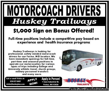 Professional Motorcoach Driver