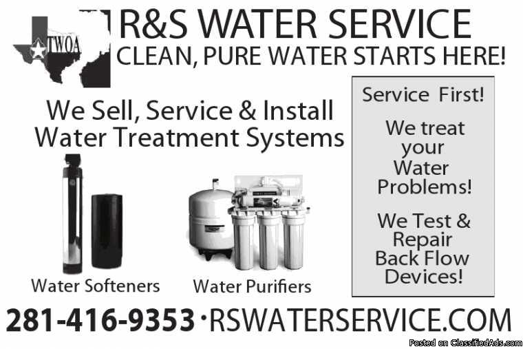 Green Water? Sienna Plantation. Carbon Filter. RS Water  281-416-9353