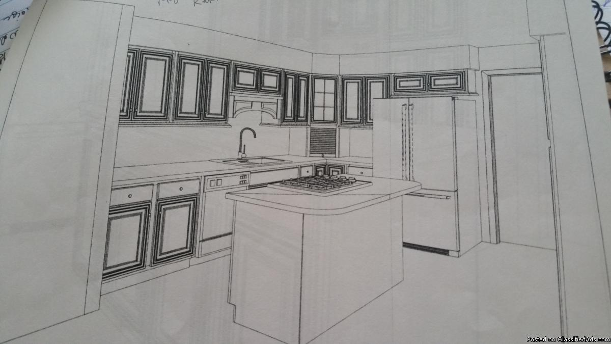 Haas Tuscany Cherry Kitchen cabinets
